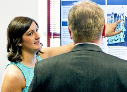 LU's Undergraduate Research and Scholarship Symposium features academic, creative excellence