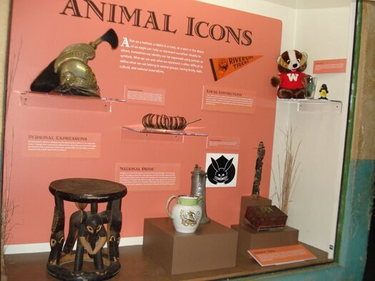 Musko is on display at the Milwaukee Public Museum!
