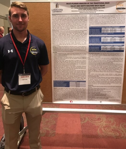 Exercise science program is top presenter at international conference