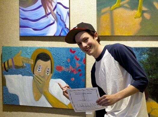 Art students' best work from school year on display at Bradley