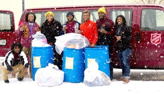 Betas step up again for Salvation Army