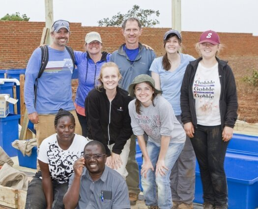 LU group helps build something special in Malawi, Africa