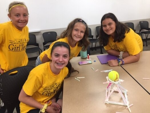 Fox Cities Center staff volunteers at summer camp