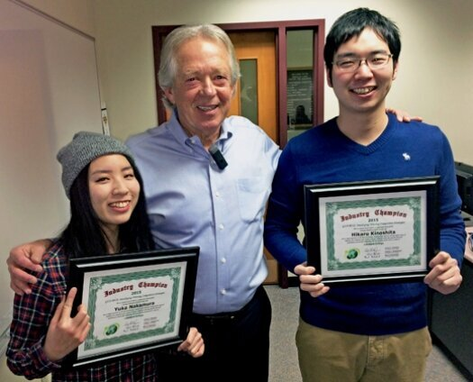 Lakeland business students shine in world-wide competition