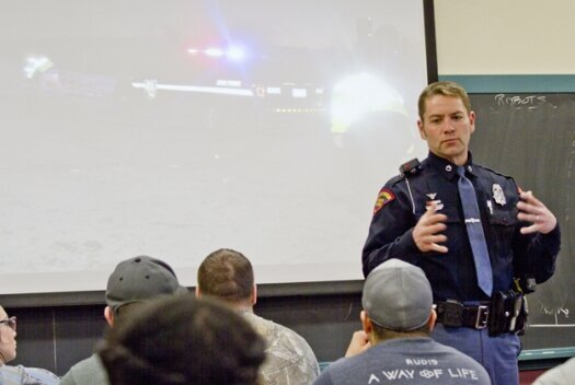 Special guests highlight LU's Policing in America class