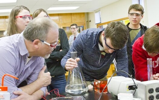 LU opens laboratory to Elkhart students