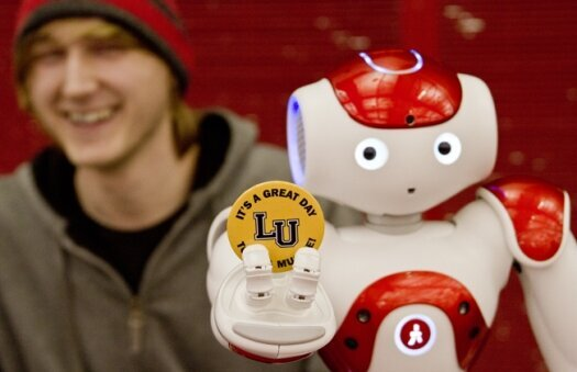 LU robots make appearance at South High event